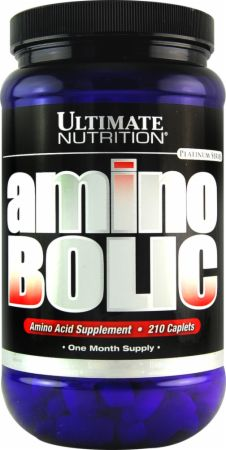 Ultimate Nutrition, Amino Bolic, 210 таблеток