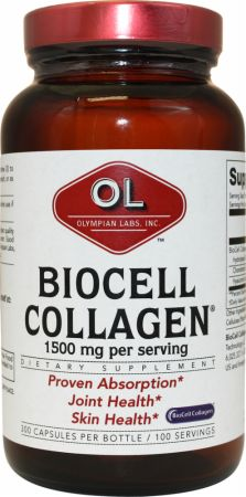 Olympian Labs, BioCell Collagen II, 100 капсул