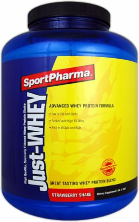SportPharma, Just Whey, 2268 грамм