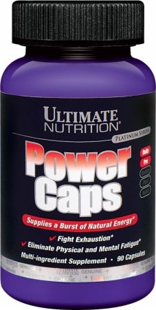 Ultimate Nutrition, Stamina Power Caps, 90 капсул