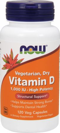 NOW, Vitamin D - Vegetarian, 120 капсул