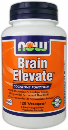 NOW, Brain Elevate, 120 капсул