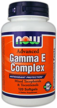 NOW, Advanced Gamma E Complex, 120 капсул