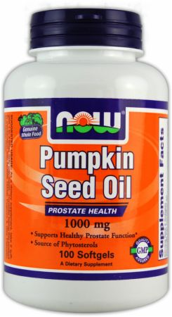 NOW, Pumpkin Seed Oil, 100 капсул