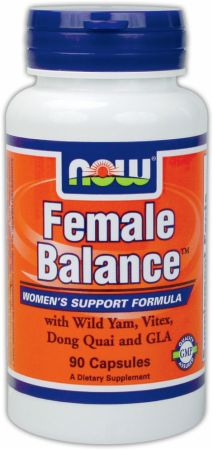 NOW, Female Balance, 90 капсул