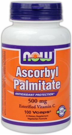 NOW, Ascorbyl Palmitate, 500мг/100 капсул