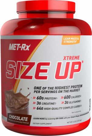 Met-Rx, Xtreme Size Up, 2722 грамма