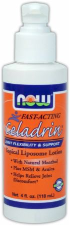 NOW, Celadrin Topical Liposome Lotion, 118 мл