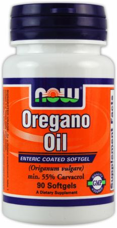 NOW, Oregano Oil, 90 капсул