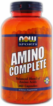 NOW, Amino Complete, 120 капсул