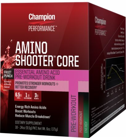 Champion, Amino Shooter Core, 18 упаковок