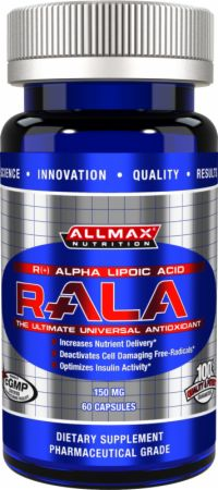 AllMax Nutrition, R-ALA Complex, 60 капсул
