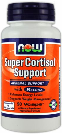 NOW, Super Cortisol Support, 90 капсул