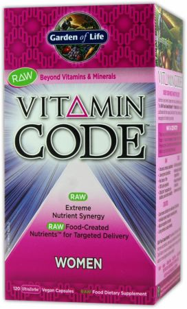 Garden Of Life, Vitamin Code-Women, 120 капсул
