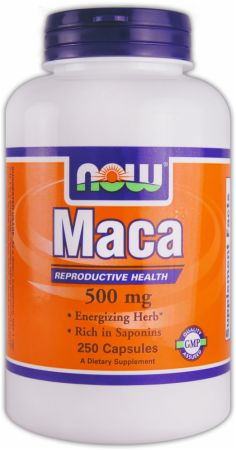 NOW, Maca, 500мг/100 капсул
