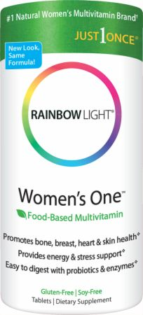 Rainbow Light, Women's One Multivitamin Mineral, 30 таблеток