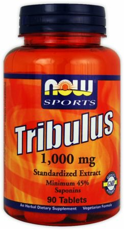 NOW, Tribulus 1000, 90 таблеток