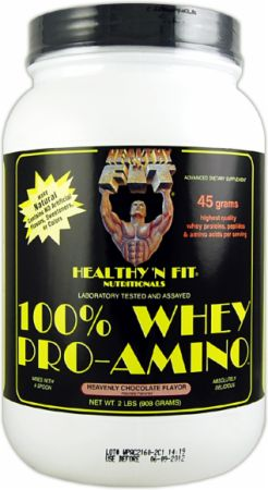 Healthy 'N Fit, 100% Whey Pro-Amino, 908 грамм