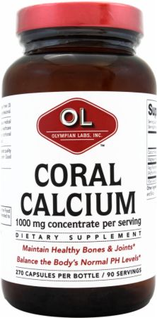 Olympian Labs, Coral Calcium, 270 капсул