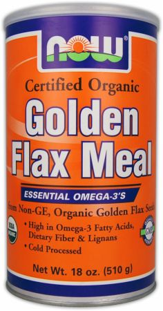NOW, Golden Flax Meal, 1237 мл