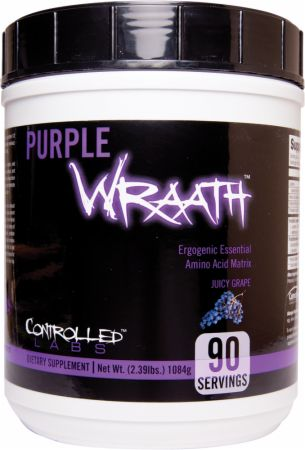 Controlled Labs, Purple Wraath, 45 порций