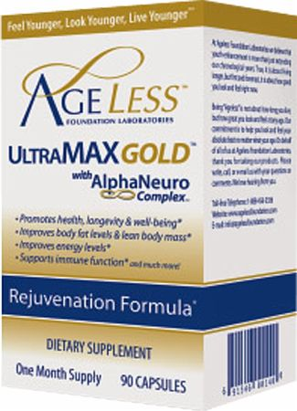 Ageless Foundation, UltraMAX Gold Capsules, 90 капсул