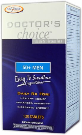 Enzymatic Therapy, Doctor's Choice For 50-Plus Men, 120 таблеток
