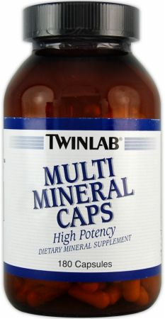 Twinlab, Multi Mineral Caps, 180 капсул