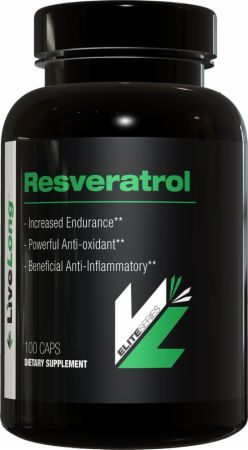 LiveLong Nutrition, Resveratrol, 100 капсул