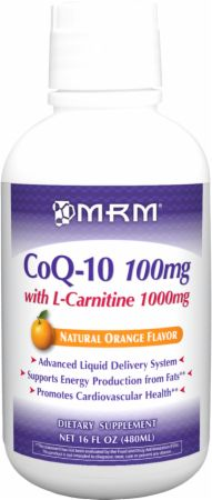 MRM, Co-Q 10 With L-Carnitine, 474 мл