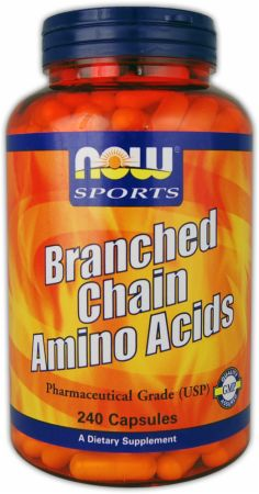 NOW, Branched Chain Amino Acids, 240 капсул