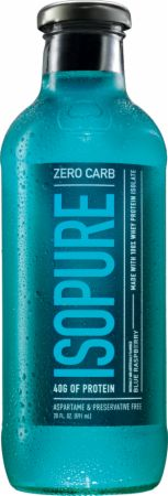 Nature's Best, Zero Carb Isopure Drink, 12 бутылок