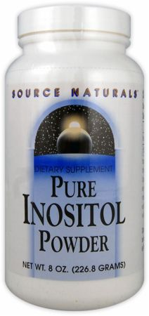 Source Naturals, Pure Inositol Powder, 227 грамм
