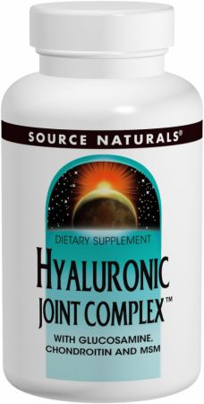 Source Naturals, Hyaluronic Joint Complex, 120 таблеток