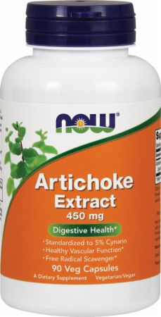NOW, Artichoke Extract, 450мг/90 капсул