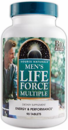 Source Naturals, Men's Life Force Multiple, 90 таблеток