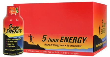 Living Essentials, 5-Hour Energy, 12 бутылок по 60 мл