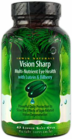 Irwin Naturals, Vision Sharp Multi-Nutrient Eye Health, 42  капсул
