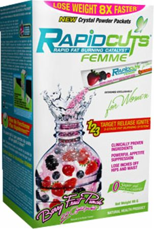 AllMax Nutrition, Rapidcuts Femme Drink Packets, 22 упаковки