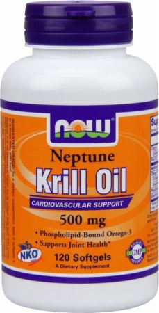 NOW, Neptune Krill Oil, 1000мг/60 капсул