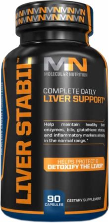 Molecular Nutrition, Liver Stabil, 90 капсул
