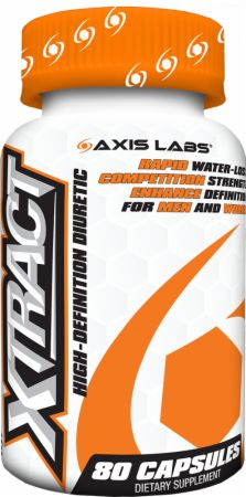 Axis Labs, Xtract, 80 капсул