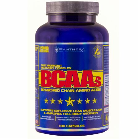 Panthera Pharma, BCAA's, 180 капсул