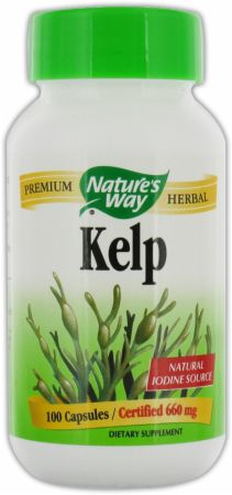 Nature's Way, Kelp, 100 капсул