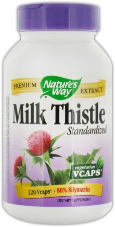 Nature's Way, Milk Thistle, 120 капсул