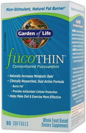 Garden Of Life, FucoThin, 180 капсул
