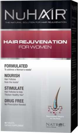 NuHAIR, Hair Regrowth For Women, 60 таблеток