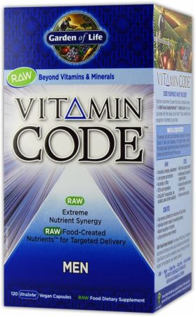 Garden Of Life, Vitamin Code-Men, 120 капсул