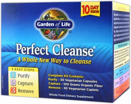 Garden Of Life, Perfect Cleanse, 10-ти дневная система