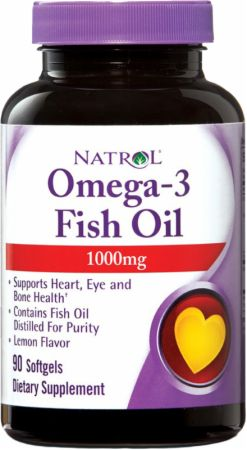 Natrol, Omega-3 Fish Oil, 90 капсул